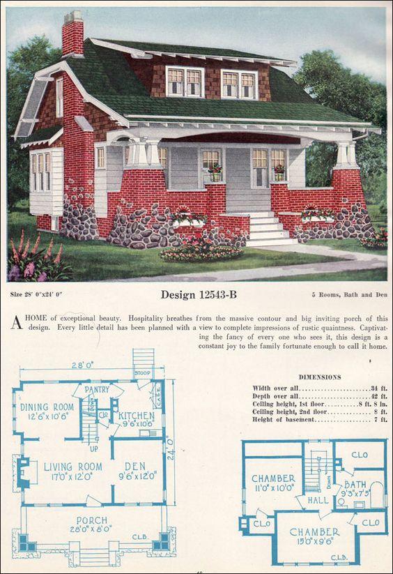 Shed dormer the porch and open floor plans on pinterest - Hungarian style house plans open gables ...