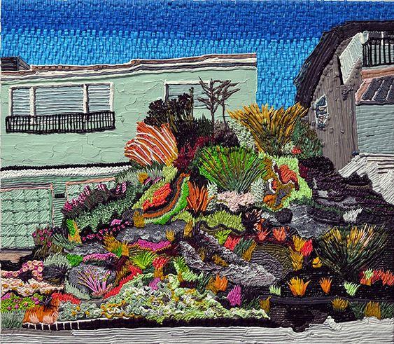 Cactus y California casas prestados en Caroline Larsen & rsquo; s estilo muy singular (Leer más)