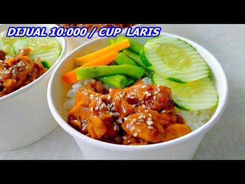 Ide Jualan Terbaru Gerobakmu Chiken Teriyaki Rice Bowl Laris Manis Youtube Resep Makanan Resep Masakan Ide Makanan