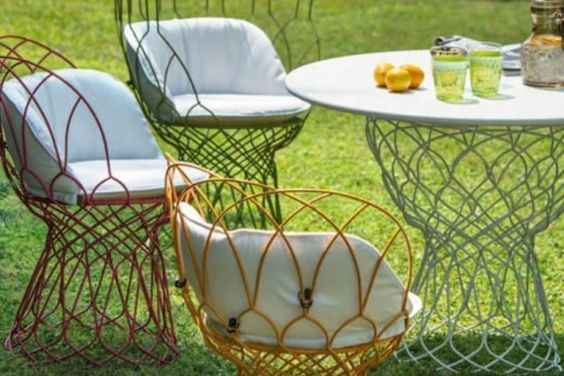 Sedie da giardino Emu - Sedie da giardino Emu, Re trouvè dai colori allegri #lovligianna