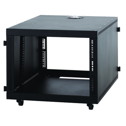 Kendall Howard 8U Compact SOHO Server Cabinet - No Doors USA Made