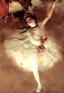 I saw this in person at the Musee D'Orsay and it made me cry.  Oh, Degas.