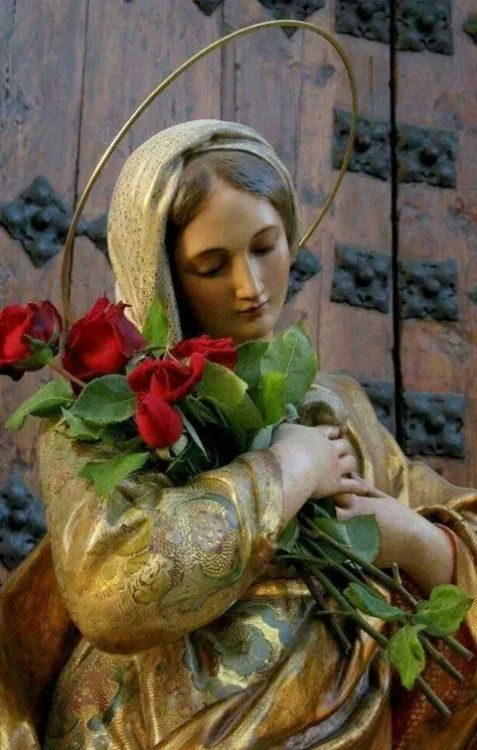 Our Mother Mary - Pax et bonum