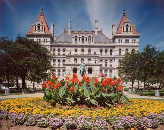 Albany New York State Capitol Building Capitol Building New