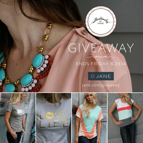 Enter the Jane.com #giveaway from @veryjane and @collectivelyyou. Ends this Friday. The more you enter, the more chances to win! http://vryjn.it/collectivelyyours-pin