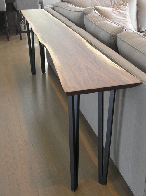 Black Walnut Sofa Table Metal Table Legs Metal Table Table Legs