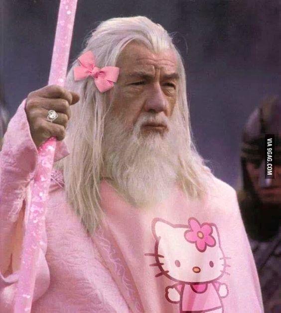 Hello ..... Gandalf!!