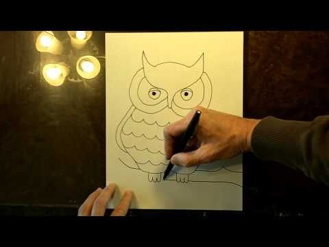 How to Draw An Owl | How to Draw Owls