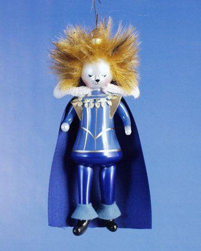 De Carlini Beau in Blue Italian Mouthblwon Christmas Ornament ...