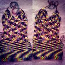Vestidinho de crochê. #maxcropped #crochê