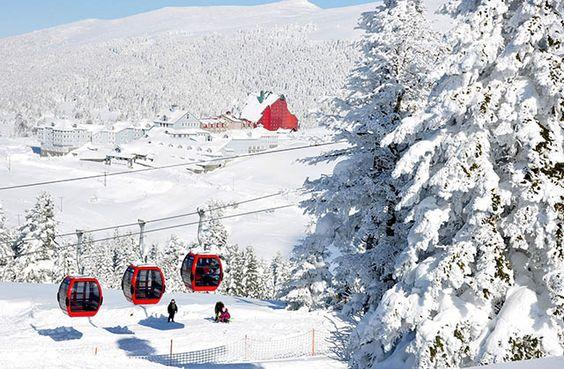 Centro de esquí Uludağ, Bursa, Turquía