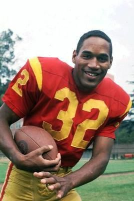 O.J. Simpson.  USC (University of Southern California), Simpson's alma mater, is a notorious site of mind control research and programming.  Brice Taylor states that she was subjected to trauma and programming at USC on multiple occasions, was prostituted to players and alumni, and that mind control methods were used on USC basketball and football players, as well as students in many professions, who were to be utilized later in their fields.