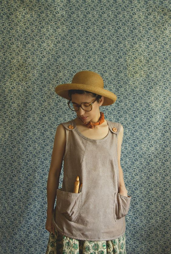 Linen Smock Shirt by xMOTHERx
