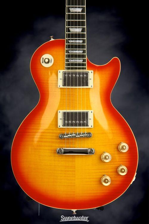 Epiphone Les Paul Tribute Plus - Faded Cherry Sunburst | Sweetwater.com