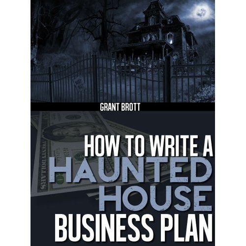haunted house business plan workbook halloween