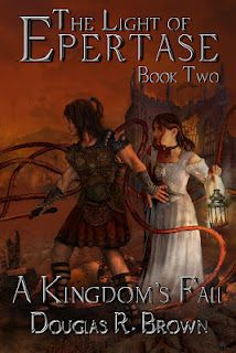 Cover reveal for The Light of Epertase, Book two; A Kingdon's Fall