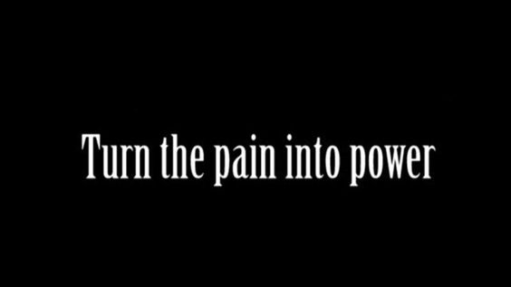"""Turn the pain into power"" I want this quote from ""Superheroes"" by The Script under my Captain America/Winter Soldier/Black Widow tattoo -Royale:"