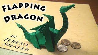 Origami dragon. How to fold origami dragon?