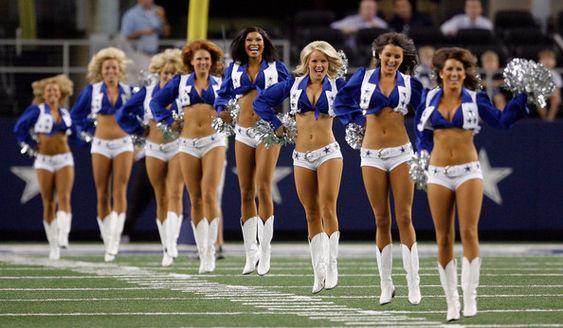 Dallas Cowboy Cheerleaders!