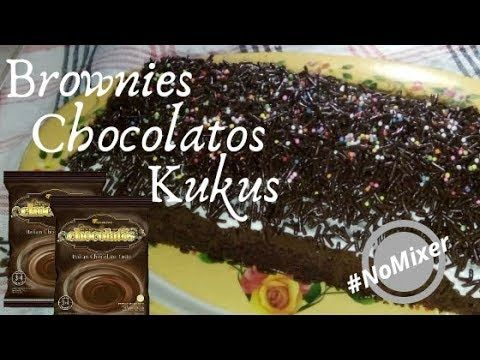 Brownies Kukus Chocolatos Tanpa Mixer Youtube Makanan Brownies Resep