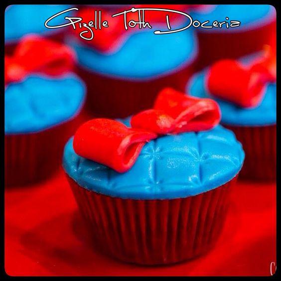 Cupcake laço !!!
