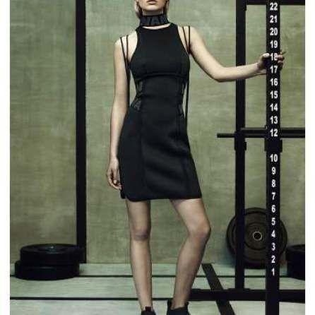 Little black dress, Alexander Wang for H&M