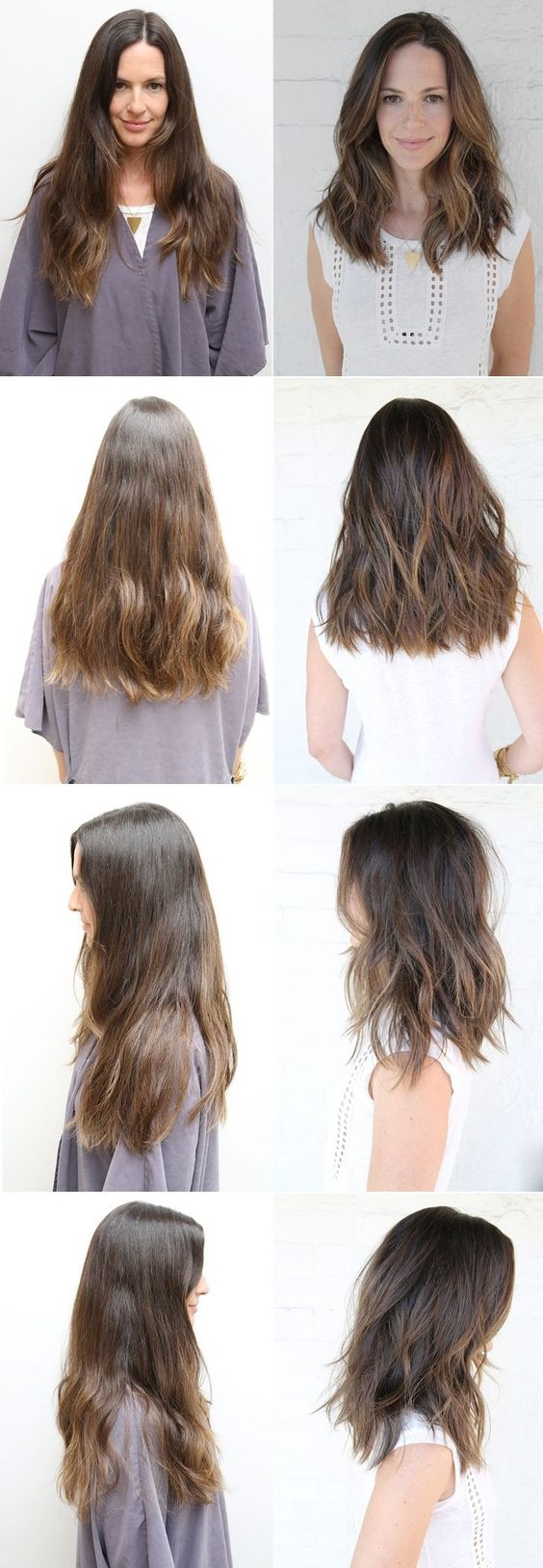 Coup Coiffures And Cheveux Longs On Pinterest