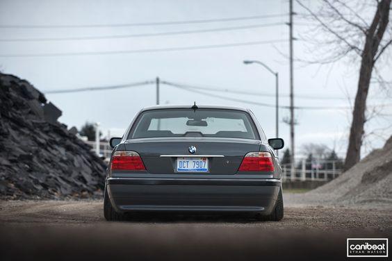 Austin Morriss BMW 740il