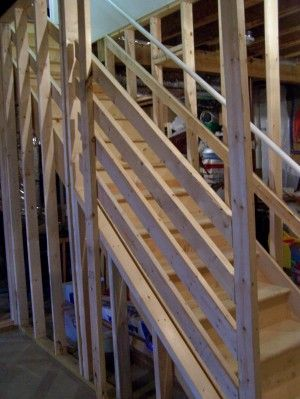 unfinished basement stairs. Unfinished Basement Ideas Cheap  profile picture this your so you have daylight and look Home Pinterest Basements steps