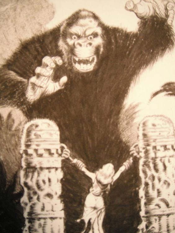 King kong, King and Scene on Pinterest