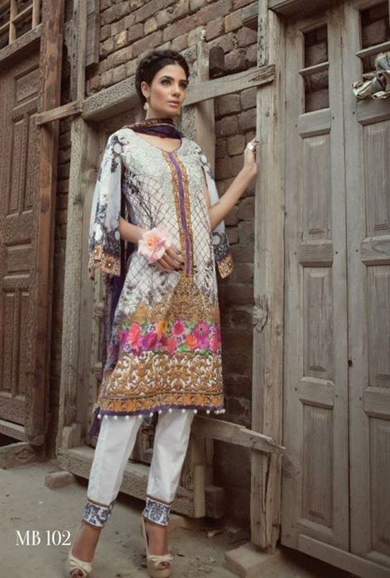 Maria B Digital Prints 2015 Ramadan-Eid Collection 2015-7