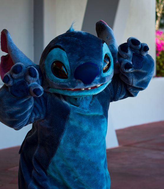 Image result for stitch meet and greet magic kingdom pinterest