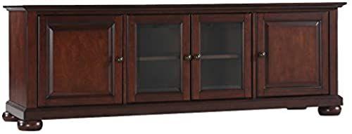 Best Seller Crosley Furniture Alexandria 60 Inch Low Profile Tv Stand Vintage Mahogany Online Aristatopshop In 2020 Low Profile Tv Stand Tv Stand Mahogany Living Room Furniture