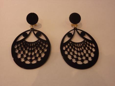 Earrings Clasico Negro