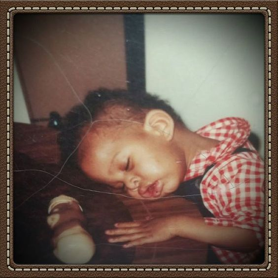 The beginning of my life.... age 1.  #tbt  #babypic #naptime
