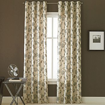 Jcpenney odette curtains for the home pinterest - Jcpenney bathroom window curtains ...