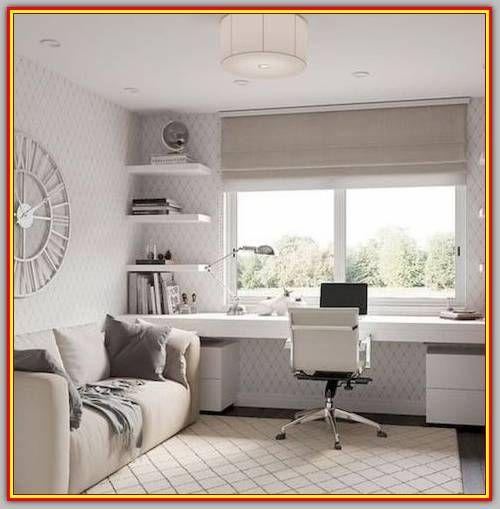 Most Popular Modern Home Office Design Ideas For Inspiration Modern Interior Design Guest Room Office Home Office Decor Home Office Design