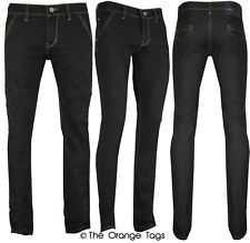 Mens black super skinny stretch jeans – Global fashion jeans