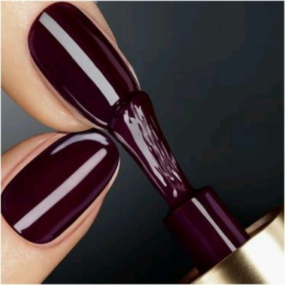 Ox Blood | Diva-Nails | Pinterest | Inspiración, Uñas pintadas de ...