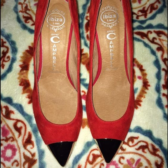 New red heels New SALE Jeffrey Campbell Shoes Heels
