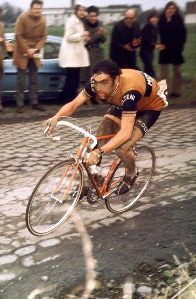 Eddy Merckx PARIS ROUBAIX 1970
