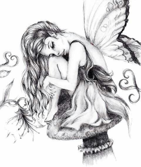 Pin By Elizabeth Patti On Dragons Fantasy And More Fairy Drawings Fairy Tattoo Fairy Artwork