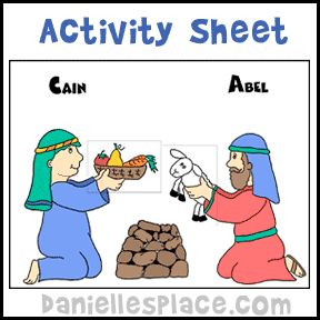 Crafts sunday school and activities on pinterest for Cain and abel crafts