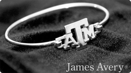 James Avery Texas A&M jewelry.