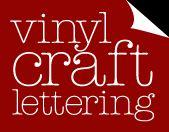 vinyl craft lettering site- ideas.