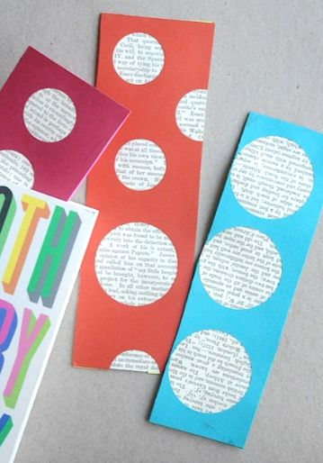 Make your own bookmarks crafts pinterest homemade for Cool ways to make bookmarks