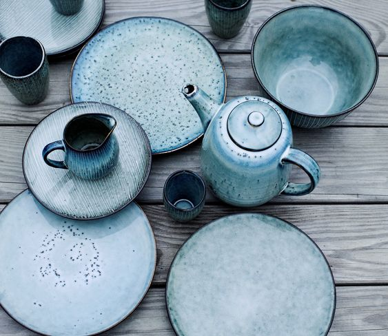 'Nordic' design ceramic tableware by Broste Copenhagen