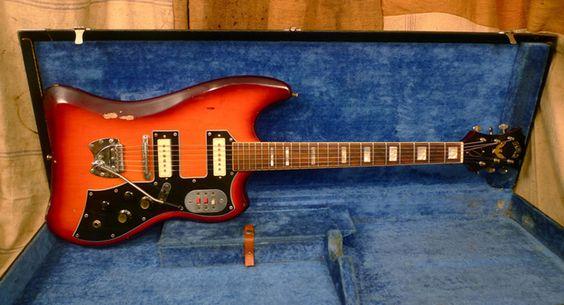 Guild S-200 Thunderbird Electric Guitar (c. 1965)
