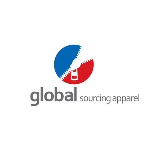 Fun Logo Design for Global Sourcing Apparel HiretheWorld