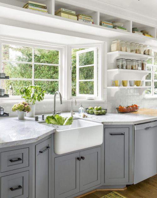 thisoldhouse:BEFORE  AFTER: KITCHEN DESIGN From the  Mein Blog: Alles rund um die Themen Genuss & Geschmack  Kochen Backen Braten Vorspeisen Hauptgerichte und Desserts # Hashtag